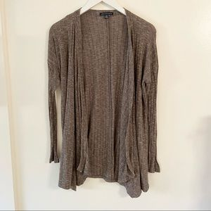 American Eagle Ribbed Duster Cardigan Sweater